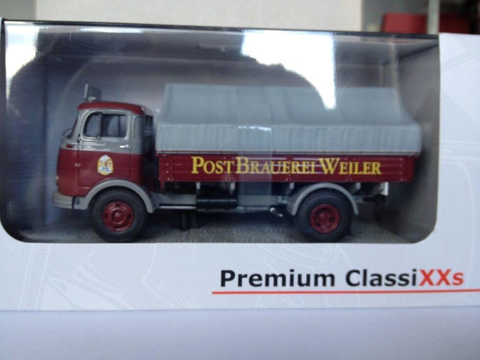 Premium Classixxs 1 43 Mercedes Benz Benz Benz LP911 Postbrauerei 12155 0cbe22