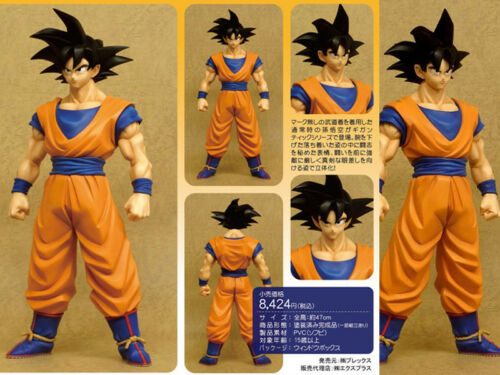 Japan Anime DBZ Dragon Ball Z Super Saiyan Goku Gokou Xplus Figurine 45cm No Box