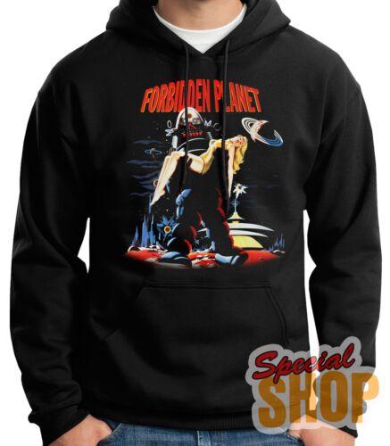 "Sweatshirt Hoodie Hooded /"" Forbidden Planet the Planet Forbidden /"" Hoodie"