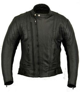Stealth Damen Leder Motorrad Schutz Jacke Damen Motorrad Schutzkleidung