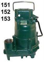 N152 152-0002 4/10 HP ZOELLER DOSE-MATE EFFLUENT SUMP PUMP