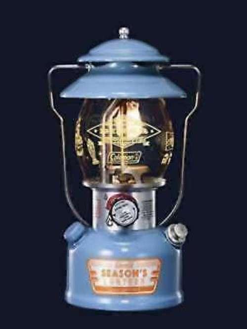 Coleman Lantern Seasons Lantern 2017 Vintage Blau aus Japan