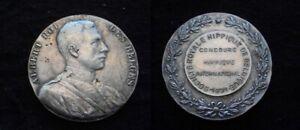 Inquiet Medaille De 46g Albert Roi Des Belges 1931 Signé Witterwulche..(paypal Possible)