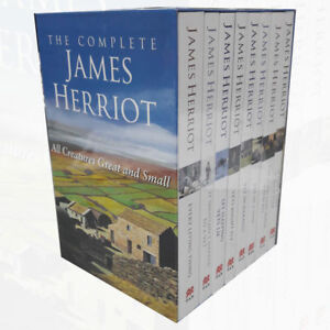James-Herriot-Complete-Collection-Vol-1-8-Vets-Might-Fly-8-Books-Set-Brand-NEW