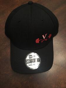 NWT Virginia UVA Cavaliers Team Issued New Era Football Iron Cav S/M Black Hat