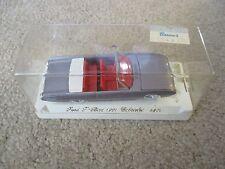 Solido Ford T-Bird 1961 Cabriolet Convertible #4504 Purple Die-Cast NIP