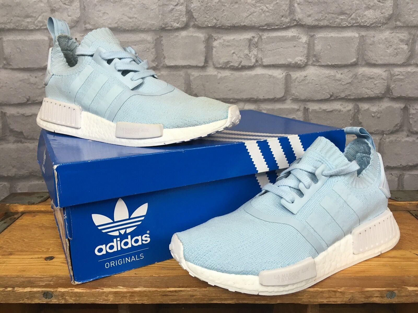 Adidas Adidas Adidas Damas UK 5 UE 38 Azul Hielo NMD Boost R1 Primeknit entrenadores  estar en gran demanda