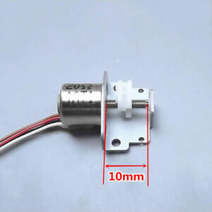 Mini 2-phase 4-wire Mini Stepper Motor Micro linear Screw Shaft Position Slider