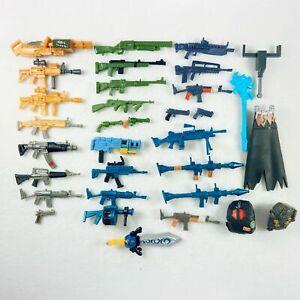 "4/"" JAZWARES Fortnite Figurer/'s Weapon Guns Backpack Accessories lot of 5pcs New"