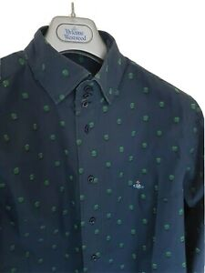 Mens-MAN-by-VIVIENNE-WESTWOOD-long-sleeve-shirt-size-III-medium-RRP-260