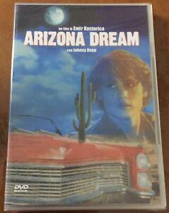 Arizona-Dream-DVD-DVD-NUOVO-Sigillato-Johnny-Deep-Kusturica-Jerry-Lewis