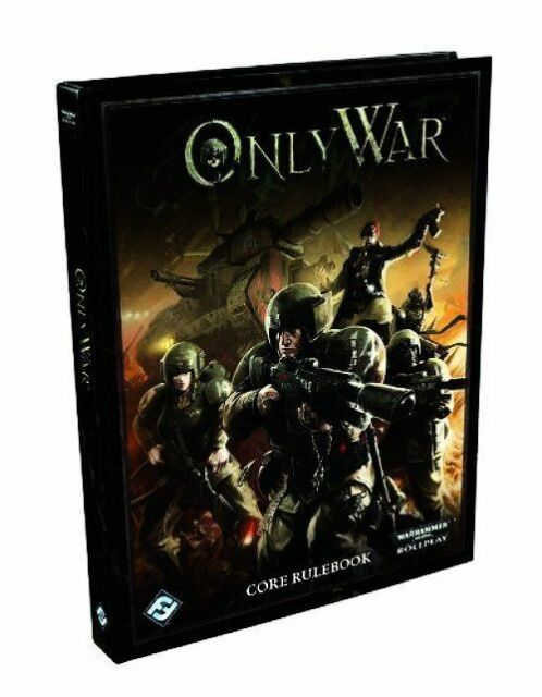 Only War Core Rule Book WARHAMMER  Fantasy Flight Games (2012, Hardcover) 53