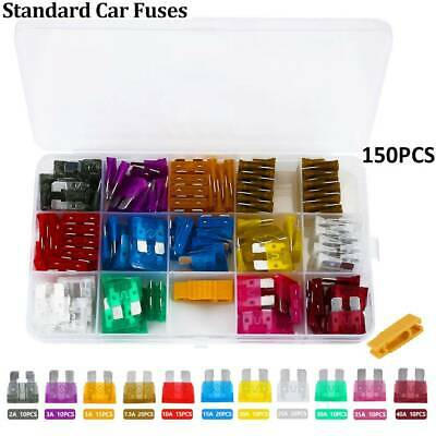 Car Blade Fuse 3A 3AMP Auto Fuses Caravan Purple 10 Pcs BT