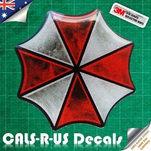 Resident-Evil-Umbrella-Zombies-3D-Reflective-Car-Motorcycle-Decal-3M-Sticker