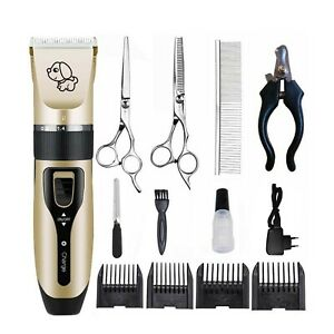 Pet-Dog-Shave-Clipper-Hair-Low-Noise-Cordless-Electric-Cat-Grooming-Trimming-Kit