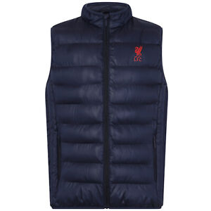 Nottingham Forest FC Official Football Gift Mens Padded Body Warmer Jacket Gilet