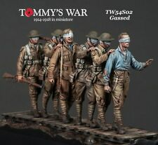 Tommy's War 1:32 54mm Gassed WWI Six Resin Figures Kit #TW54S02