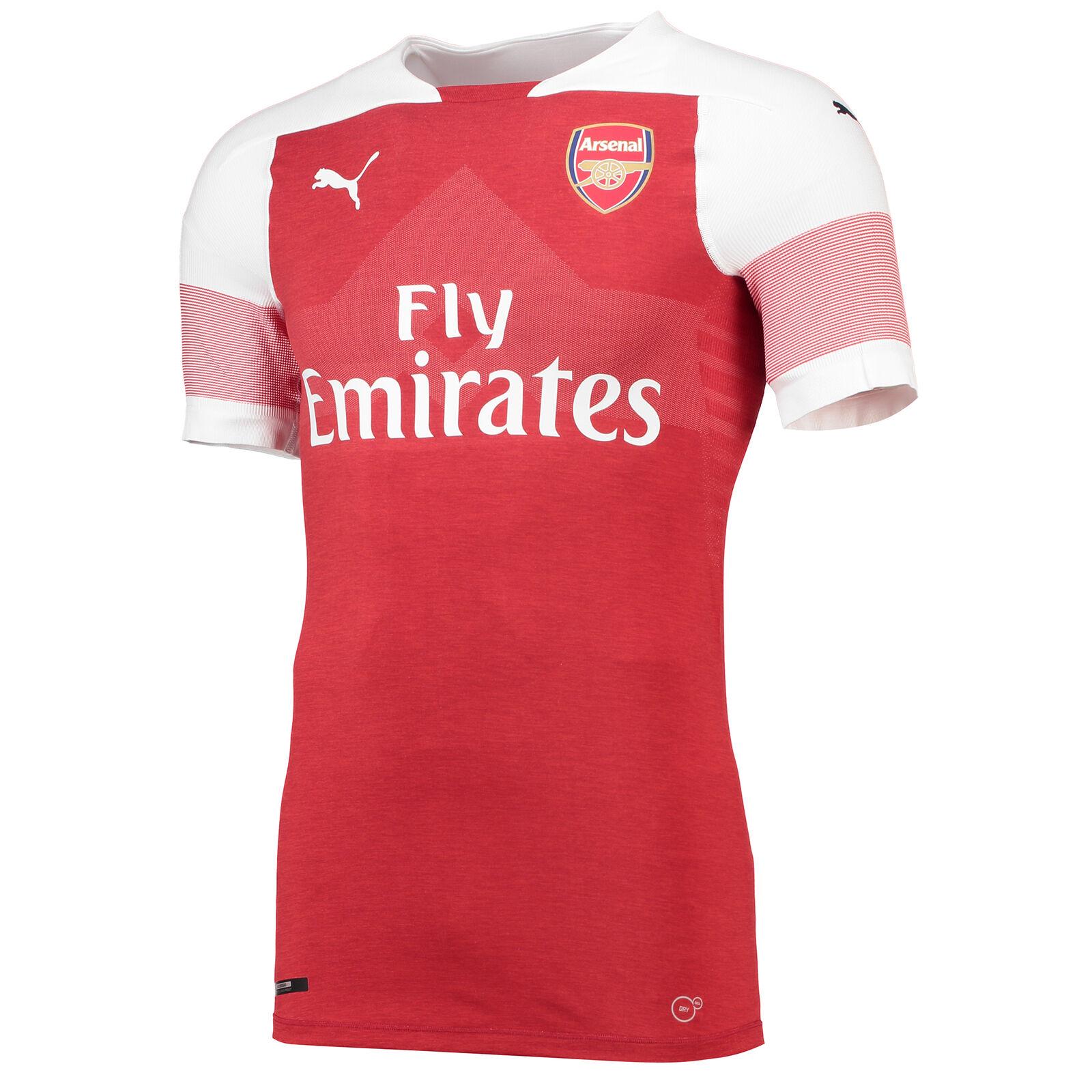 Arsenal Authentic evoKNIT Football Home Jersey Shirt Tee Top 2018 19 Mens PUMA