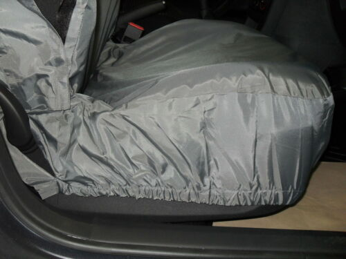 i TO FIT A VOLKSWAGEN TIGUAN CAR,SEAT COVERS,DELUXE WATERPROOF GREY,FULL SET
