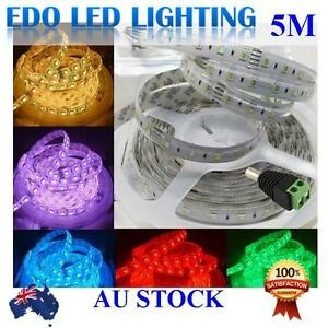 5050 RGBWW 5M 300 LEDS SMD LED Strip Light 12V Waterproof + IR Controller