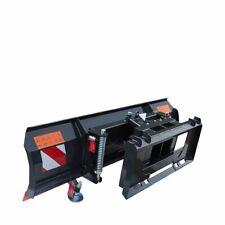 Tmg 4 Way Skidsteer 86 Hydraulic Angle Dozer Plow Blade Attachment Dirt Snow