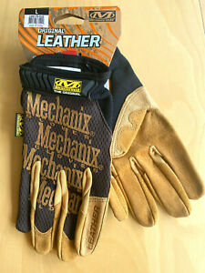 Mechanix-Original-Leather-Glove-Working-Leder-Handschuh-Atmungsaktiv-Abriebfest