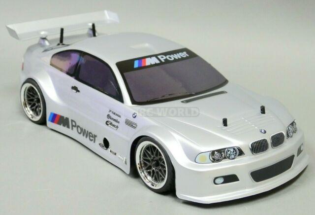 Best Gas For BMW >> 1 10 Rc Nitro Car 4wd Gas Bmw M3 On Road Car 2 Speed W Stagger Wheels New Rtr
