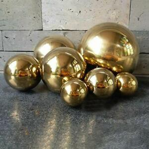 1pcs 200mm Stainless Steel Hollow Ball Mirror Polished For Kinds Of Ornament