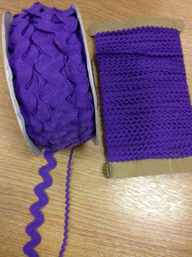 17mm narrow wide Ric Rac braid poly flat trim dress sewing by metre 2mm