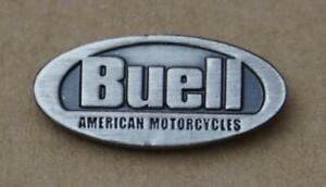 Buell-original-Pin-Anstecker-Anstecknadel-schwarz-silber-black-silver
