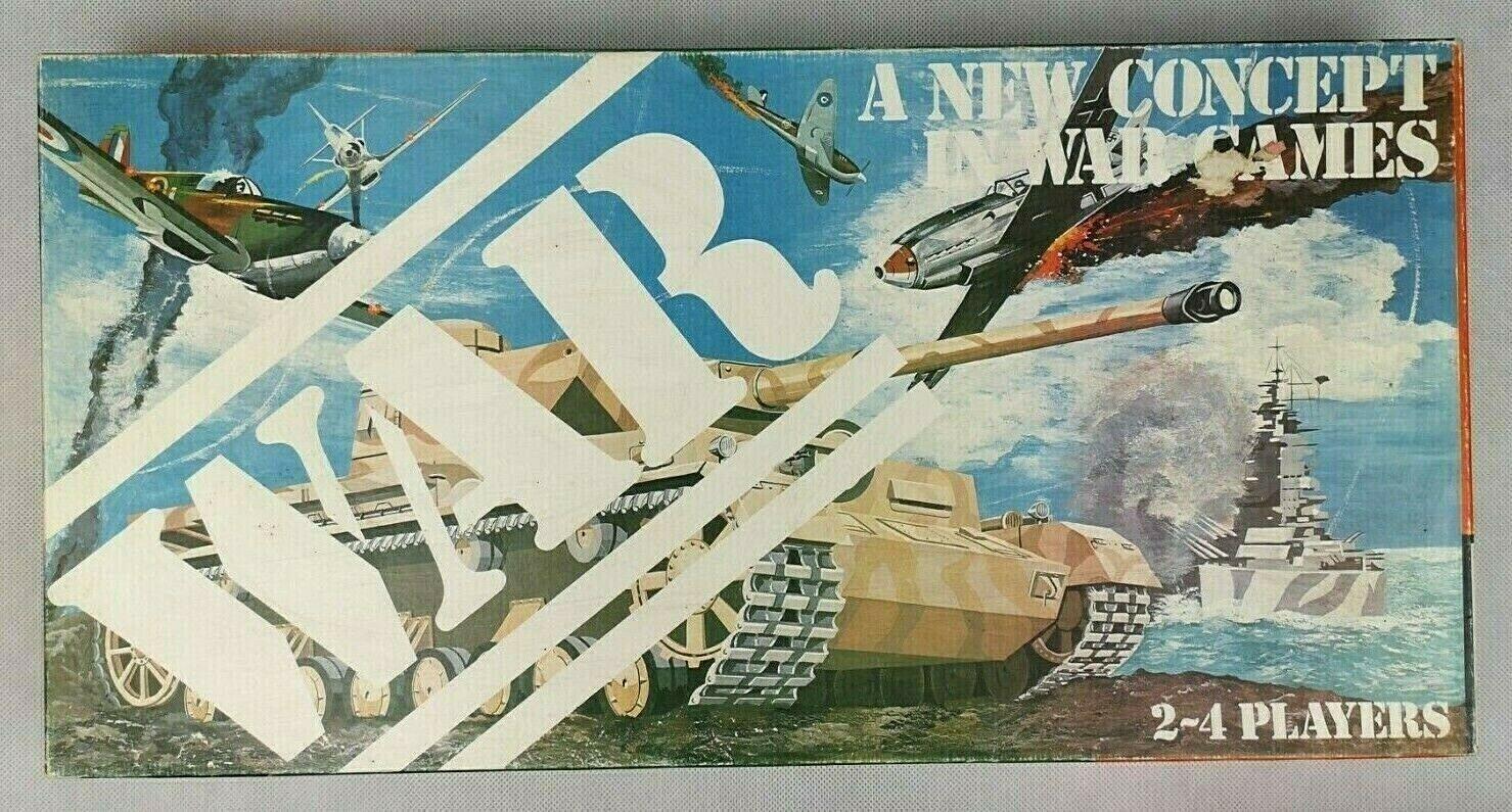 La GUERRA Gioco da tavolo vintage RARE DA larton Games CO  ottime condizioni  1980