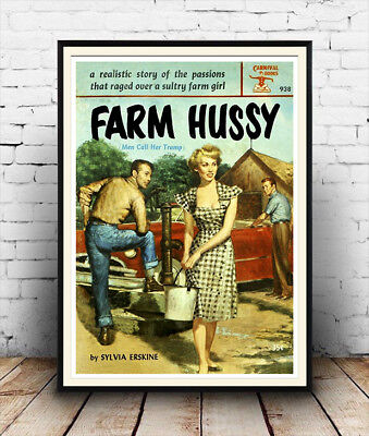 Farm Hussy book cover Poster
