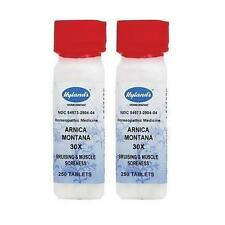 Hylands Arnica Montana 30x Homeopathic Medicine, 250 Tablets (2 pack)
