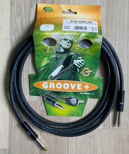 OVP Sommer Cable Silver Spirit NOISELESS 3m Instrumentenkabel Klinkenkabel NEU