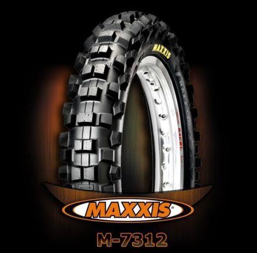 Moto cross cubiertas Maxxis 80//100-12 62 m m-7312 rear ktm Kawasaki SX RM KX 65