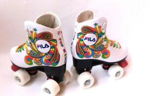 Fila-Bella-white-weiss-Maedchen-Rollschuhe-Roller-Skates-Gr-35-Abec-5