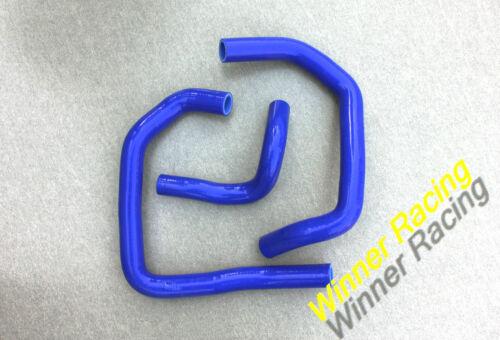 For KAWASAKI ZX6R NINJA 2005-2006 Silicone Radiator Coolant Hose Kit Blue