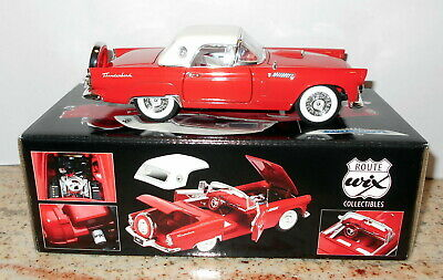 WIX 50th Anniversary Die-cast Collectible 1956 Red Ford Thunderbird 1:24
