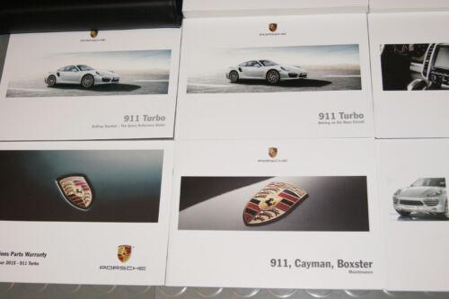 informafutbol.com SET 2015 Porsche Turbo 991 911 Owners Manual ...