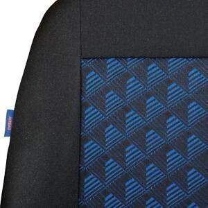 Negro-Azul-Efecto-3D-Fundas-de-Asientos-para-Fiat-Punto-Cubierta-Coche-Completo