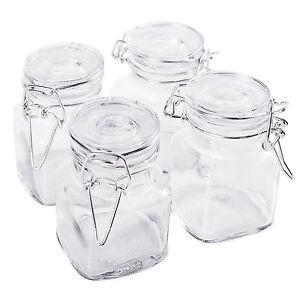 4pc-Glass-Mini-Mason-Jars-Canisters-Kitchen-Storage-Wedding-Decoration-Supplies