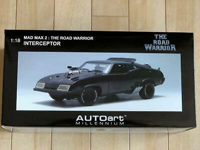 Mad Max 2 Diecast Car 1/18 The Road Warrior Interceptor Model AUTOart Millennium   eBay