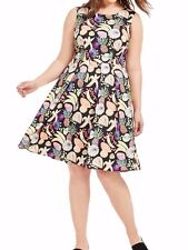 Rachel Antonoff Daniel A Line Dress In Tutti Frutti Print Sizw 16