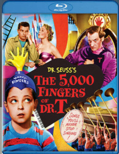 5,000 Fingers Of Dr. T (2016, Blu-ray NEW)