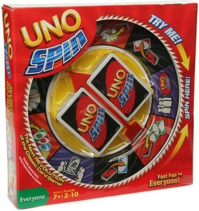 Uno Spin Game