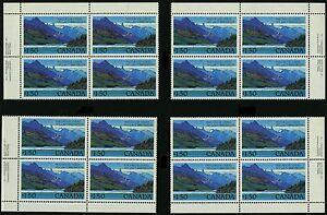 Canada 1982 Unitrade # 935 Mint Never Hinged Block Set VF