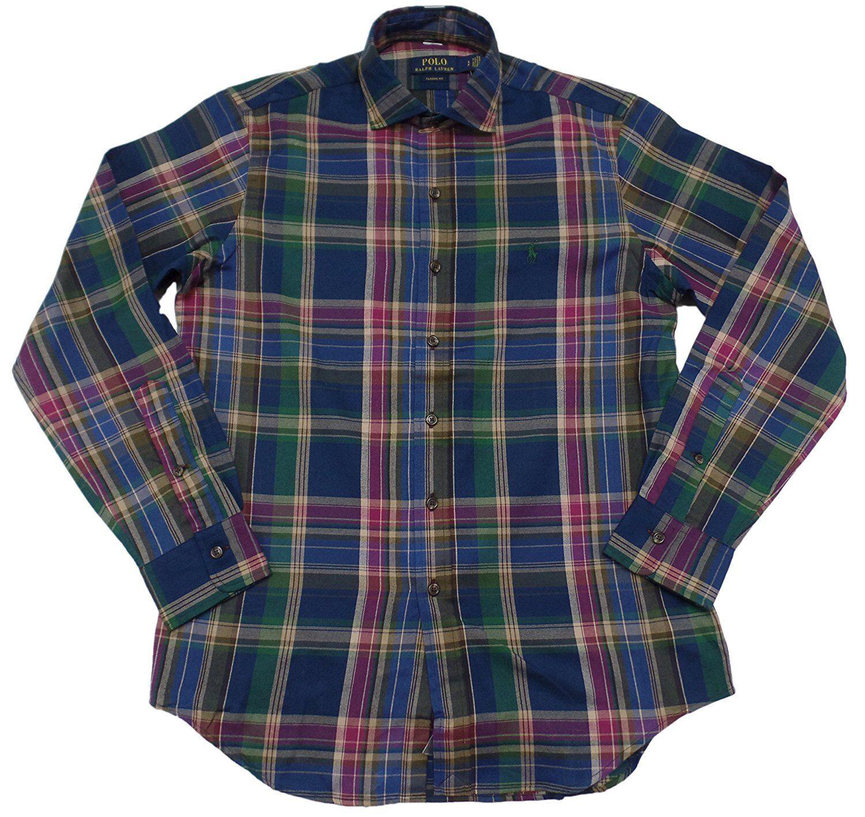 Polo Ralph Lauren Men's Classic Fit Twill Pony Logo Button-Down Shirt M