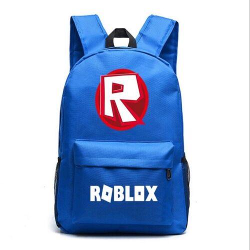 UK Roblox Backpack Kids School Bag Students Boys Girls Bookbag Handbag Travelbag