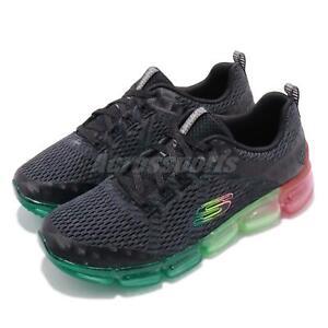3732eec170fe Skechers Skech-Air 92 Black Multi-Color Women Running Shoes Sneakers ...
