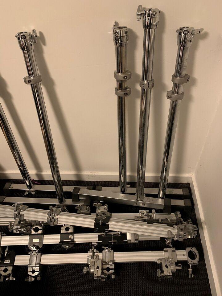 Andet, Pearl DR-503 m. clamps og bækkenarme